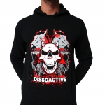 Dissoactive Fuck Your Mind hooded