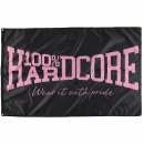100% Hardcore Banner The Brand Pink