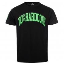 100% Hardcore T shirt Illness Neon