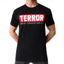 Terror Zwaar terreur gesteld T-shirt