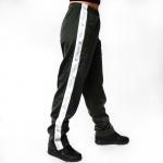 Australian pants triacetaat Green Dill/W