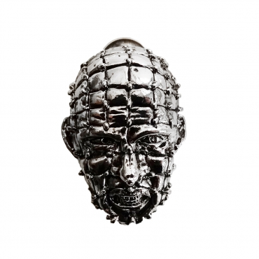 Metal 3-D Hellraiser pin