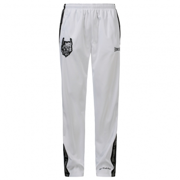 100% Hardcore Pants Branded White