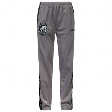 100% Hardcore Pants Branded Grey
