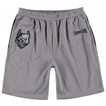 100% Hardcore Short Branded Grey