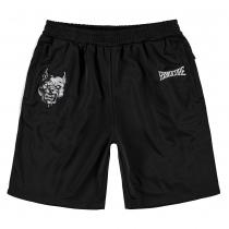 100% Hardcore Short Branded Black