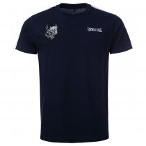100% Hardcore T Shirt Branded Blue