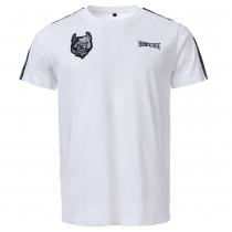 100% Hardcore T-shirt Branded White