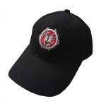 Black Megarave Cap - stitched