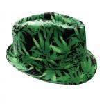Hemp print Festival hat