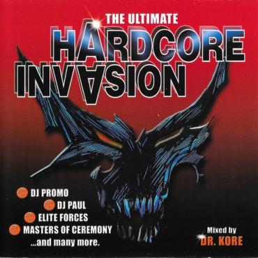 The Ultimate Hardcore Invasion - CD