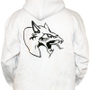 Neophyte hooded stitched WHITE