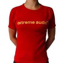 Extreme Audio shortsleeve red - one size