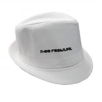 White Free Festival hat
