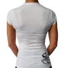 White Sullen Dust Rose lady shirt