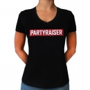 Partyraiser Lady v neck shirt