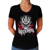 MBK 'Blood' lady V-Neck T-shirt