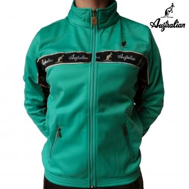 Australian Logo Jacket mint green B