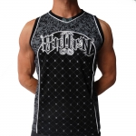 Sullen blaq star jersey black shirt