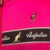 Australian Logo Jacket Fuxia black bies