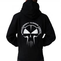 Black Rotterdam Terror Corps hooded - printed
