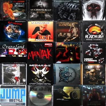 Hardcore CD pack 6