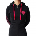 TERROR Lady Hooded zip Basic 2.0