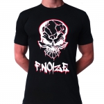 FNOIZE t shirt spraypaint