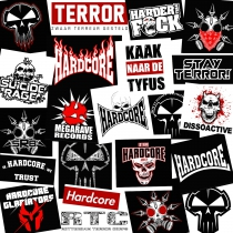Hardcore and Terror sticker pack