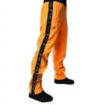 Australian pants triacetaat black/sunflo