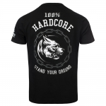 100% Hardcore T Shirt Stand your ground