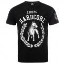 100% Hardcore T Shirt Standing the groun