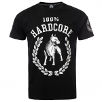 100% Hardcore T Shirt Standing the groun