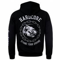 100% Hardcore Hooded Zipper Stand Your Ground