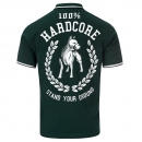 100% Hardcore Polo Standing Green