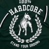 100% Hardcore Polo Standing Green
