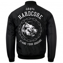 100% Hardcore Bomber Stand Your Ground
