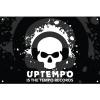 Uptempo is the tempo flag 100x150 cm