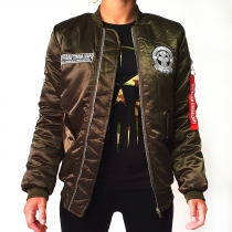 RTC Lady Bomber Jacket Army Green