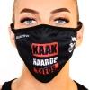 Dissoactive mouth mask