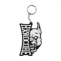 100% Hardcore Keychain Branding Rage