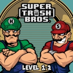 Super Trash Bros.- Level 1-2