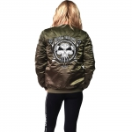 RTC Lady bomber stitched green