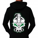 DRS Black Green Hooded