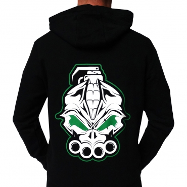 DRS Black Green Hooded