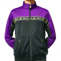 Australian duo jacket purple black tape