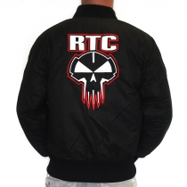 RTC bomber RED embroidery