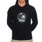 Black Nightmare Forest Hooded