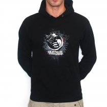 Nightmare Outdoor Forest Hooded Black