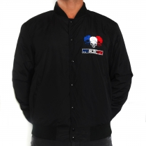 Frenchcore Baseball jacket 'Skulls' SPECIAL PRICE!